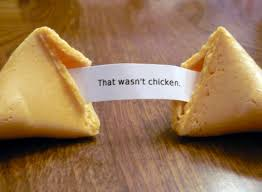Not chicken cookie